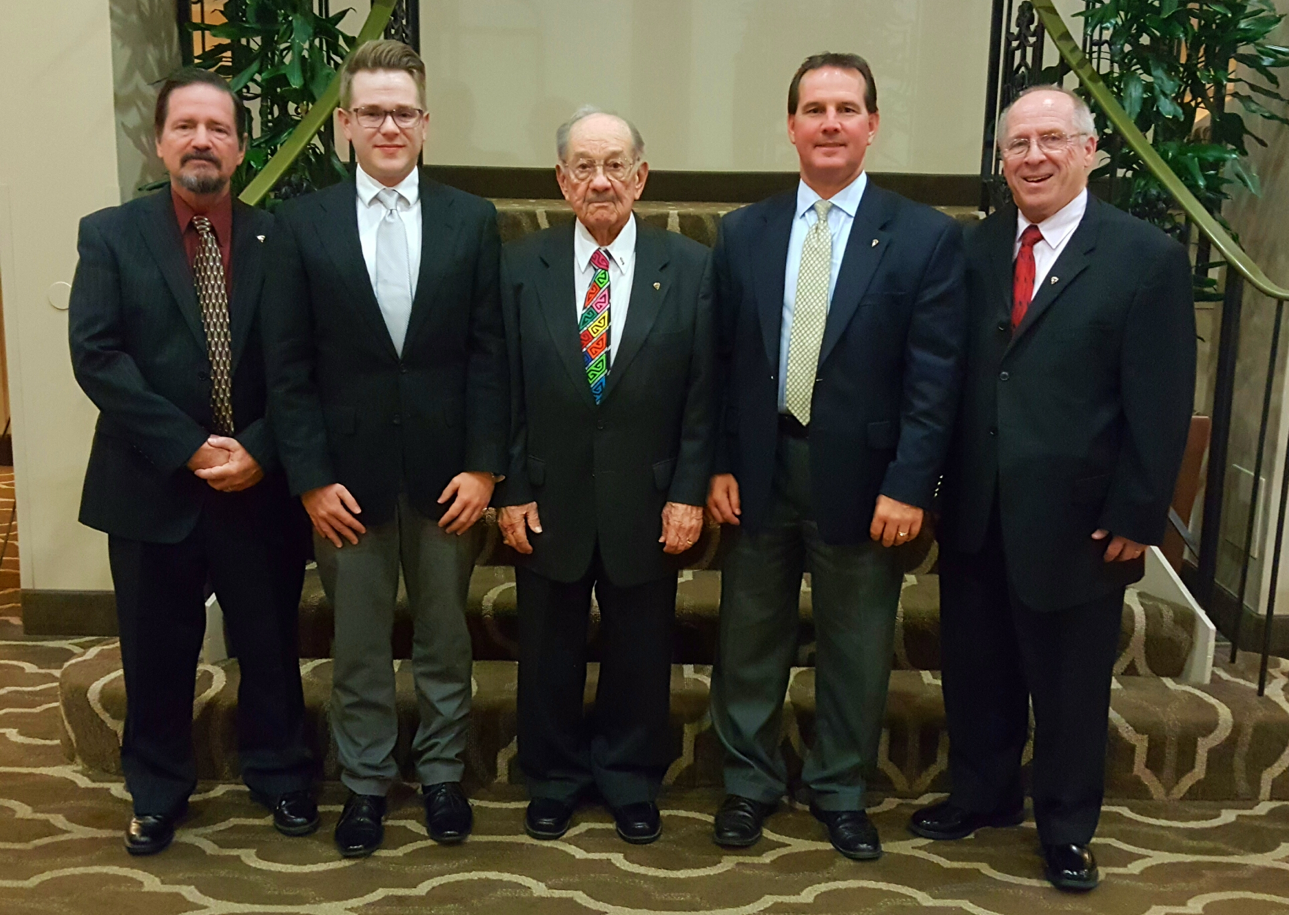 Currently active Brauer Family members include: President James L. Truesdell and Chairman William H. Brauer (seated_ and Vice President Robert G. Brauer and William D. Brauer (standing).